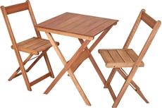 Imagem de Conjunto de Mesa Metalnew com 02 Cadeiras Orquídeas