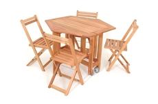 Imagem de Mesa Sextavada Metalnew Lyptus ( c/4 cadeiras)
