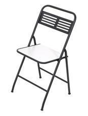 Imagem de Cadeira Dobrável Metalnew Millenium Preta
