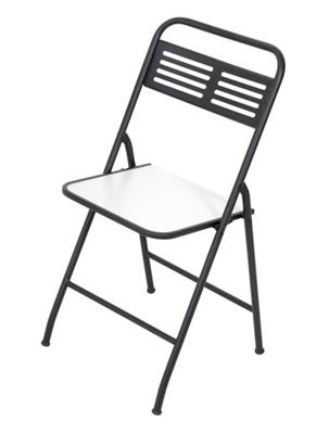 Imagens de Cadeira Dobrável Metalnew Millenium Preta